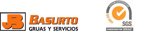 Grúas Basurto Logo